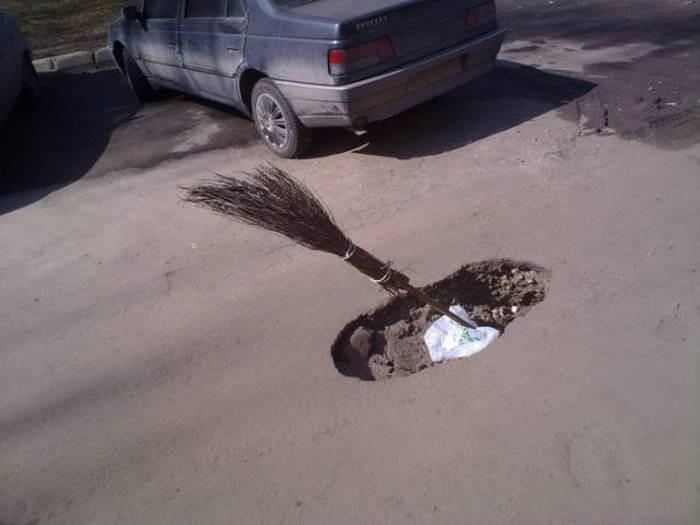 Забавные снимки, которые были сделаны на территории нашей необъятной родины (41 фото)