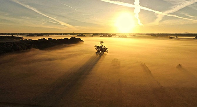 Подборка красивых фотографий с дрона (20 фото)