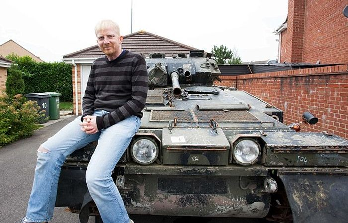 Покупка танка через интернет-аукцион (6 фото)
