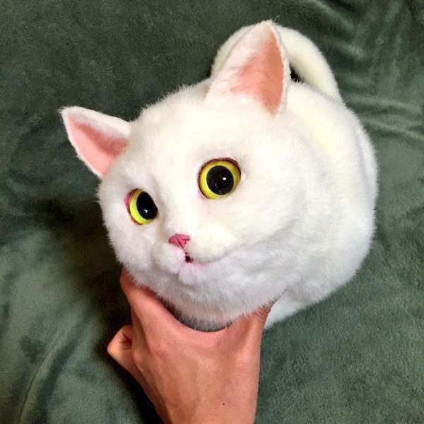 Легко эту вещь спутать с настоящей кошкой (10 фото)