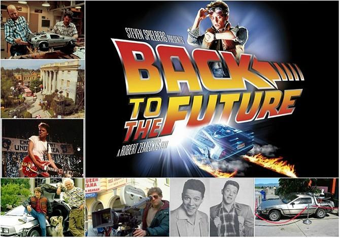 Пост о том, как снимали фильм «Назад в будущее»