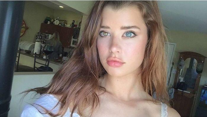 Девушка с разноцветными глазами Сара МакДэниэл стала новой звездой интернета (19 фото)