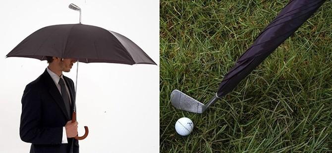 Многообразие оригинальных зонтов, для защиты от дождя (18 фото)