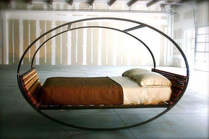 Крутые кровати, с которыми захочется уйти в спячку