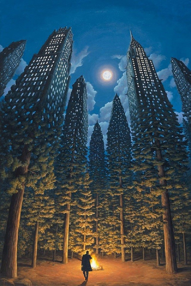 Оптические иллюзии, которые перевернут твое сознание