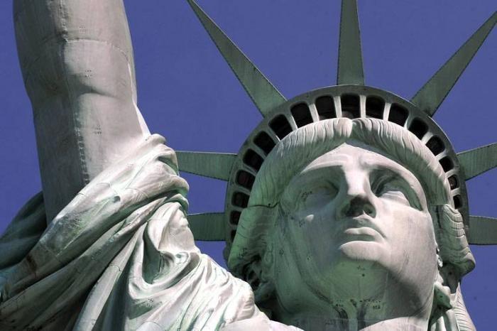 Вид статуи свободы изнутри (8 фото)