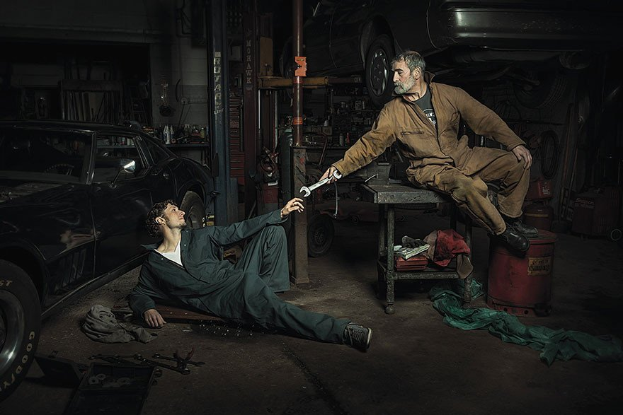 Автомеханики помогли воссоздать картины эпохи Ренессанса