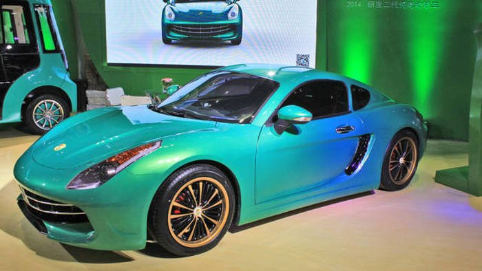 Копии известных автомобилей для китайского рынка (15 фото)
