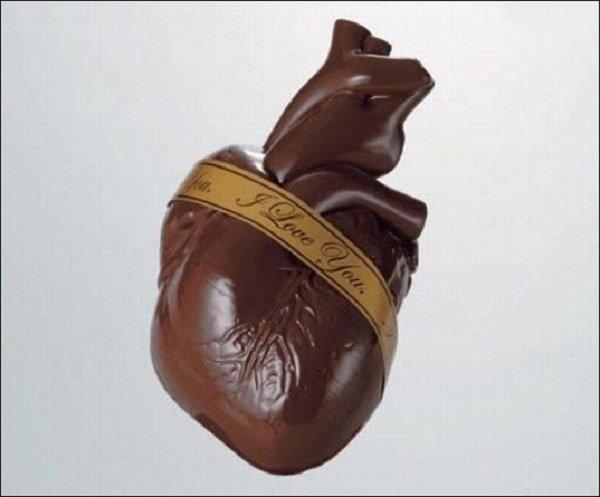 Шедевры из шоколада (11 фото)