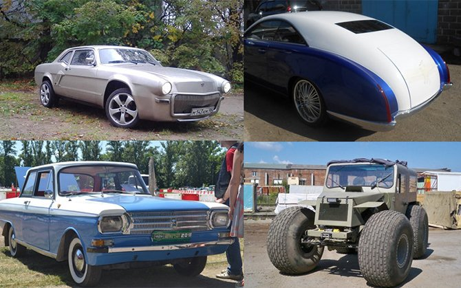 Восхитительные самодельные автомобили
