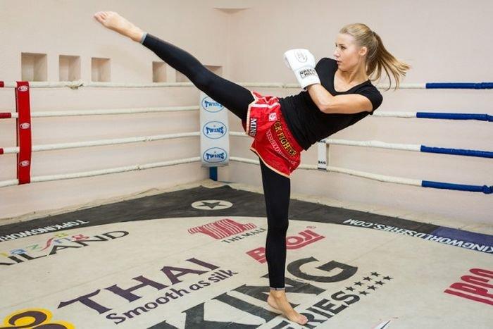 Интервью очаровательной чемпионки мира по тайскому боксу Екатерины Вандарьевой (7 фото)