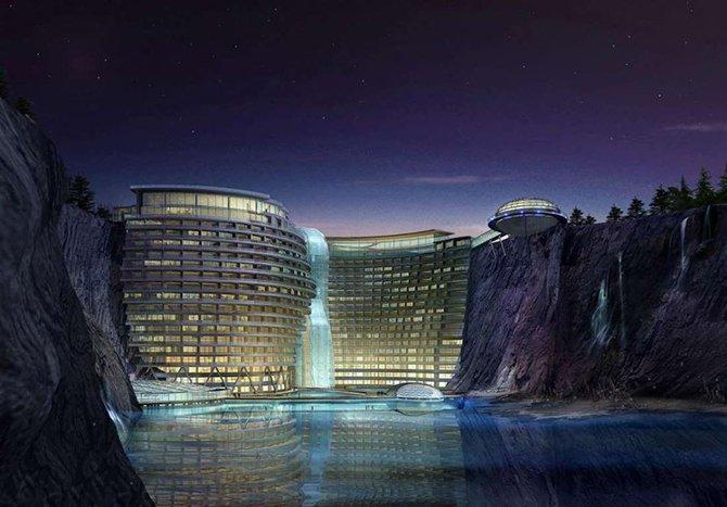 Проекты девяти самых необычных отелей