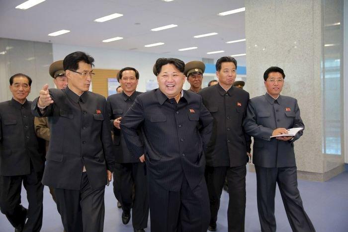Cовременный научно-технический комплекс открыли  в КНДР (8 фото)