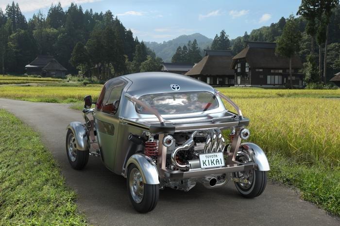 Cтранный концепт Kikai от Тойоты (15 фото)