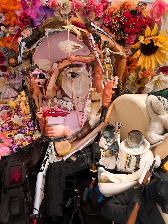 Необычные скульптуры из мусора, на которые нужно посмотреть дважды