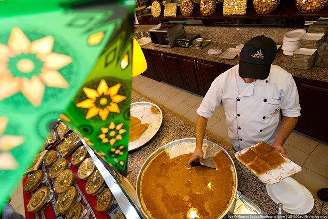 Как делают традиционное палестинское блюдо