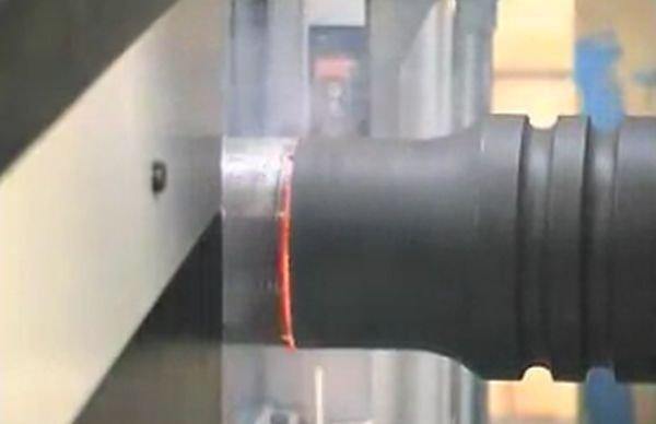 Процесс сварки труб трением (4 гифки)