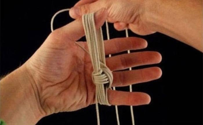Мастер-класс по завязыванию узла «обезьяний кулак» (10 фото)
