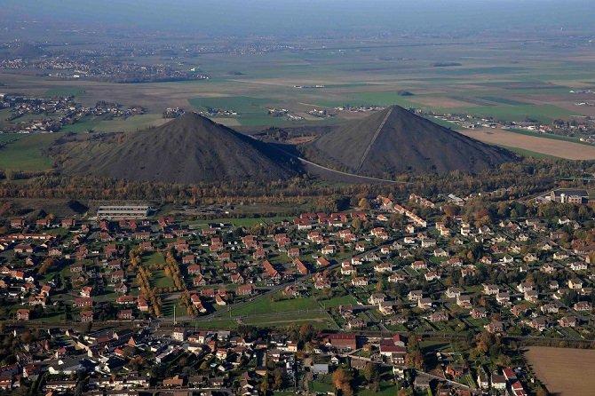 Французский угольный городок