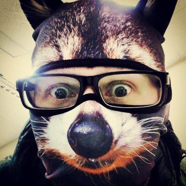 Забавные лыжные маски (8 фото)