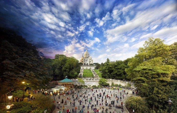Удивительные панорамные фотоснимки (12 фото)
