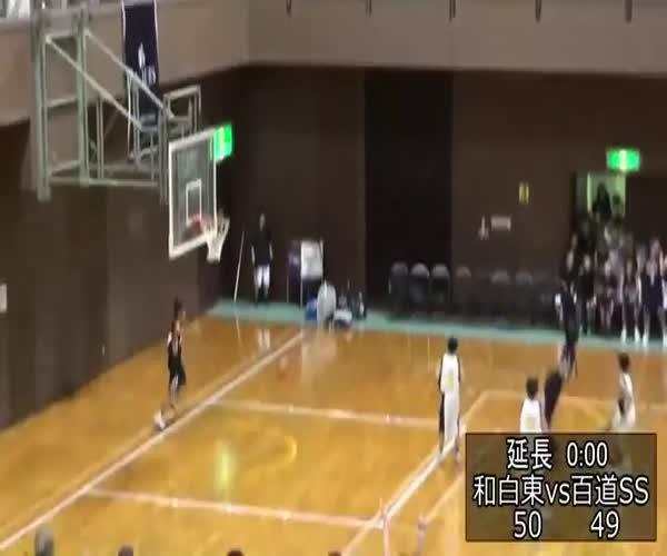 Неожиданная концовка баскетбольного матча