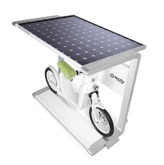Электроскутер на солнечной энергии
