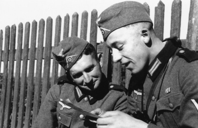 Письма немецких солдат домой