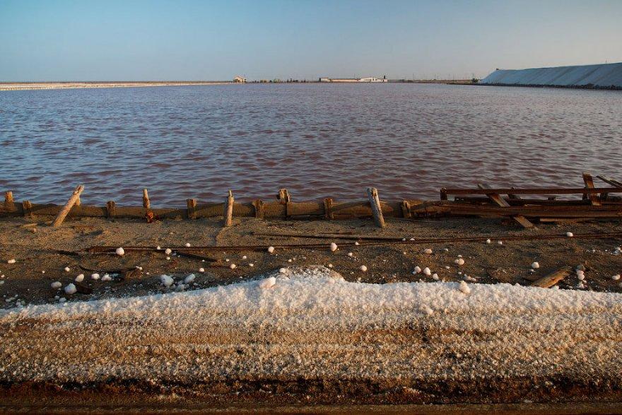 Добыча соли в Крыму