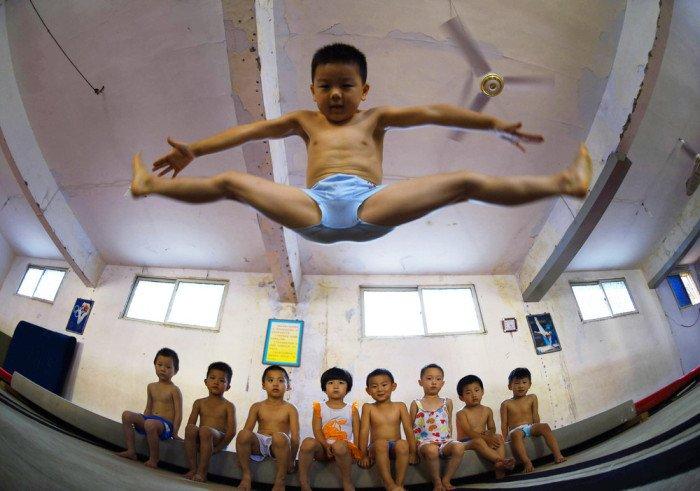 Китайский гимнастический лагерь