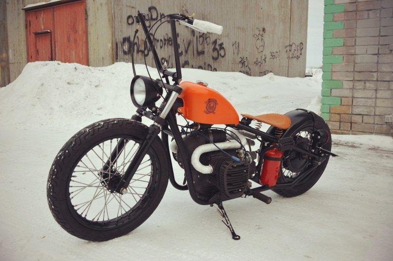 Шикарный тюнинг мотоцикла «Урал»