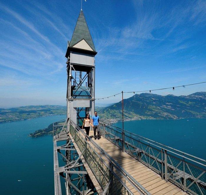Самый высокий лифт в Европе (6 фото)
