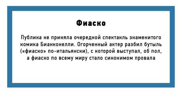 Происхождение некоторых слов русского языка (10 картинок)