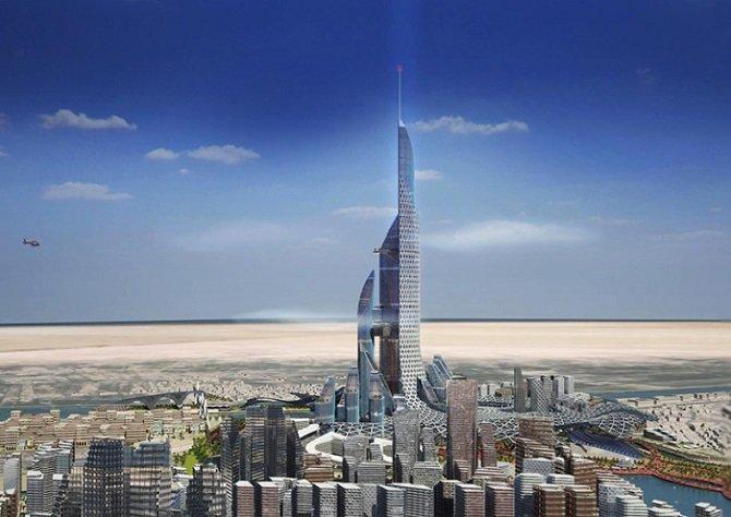 В Ираке построят самую высокую башню в 1,1 км