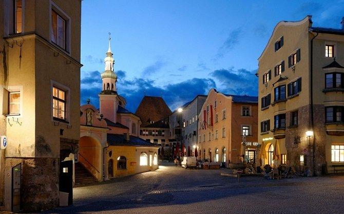 Небольшие городки Европы