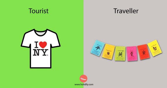 Туристы и путешественники