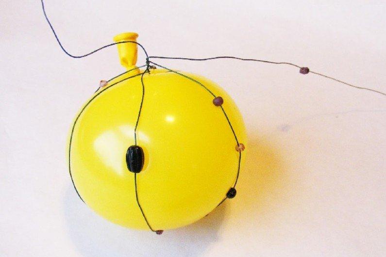 Как сделать новогоднюю игрушку из проволоки