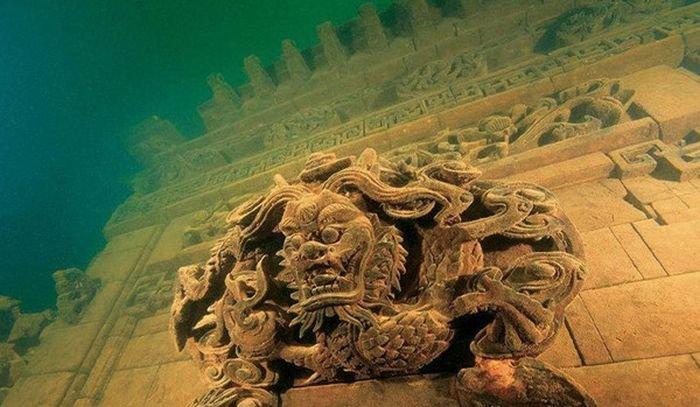 Древние города на дне океанов (5 фото)