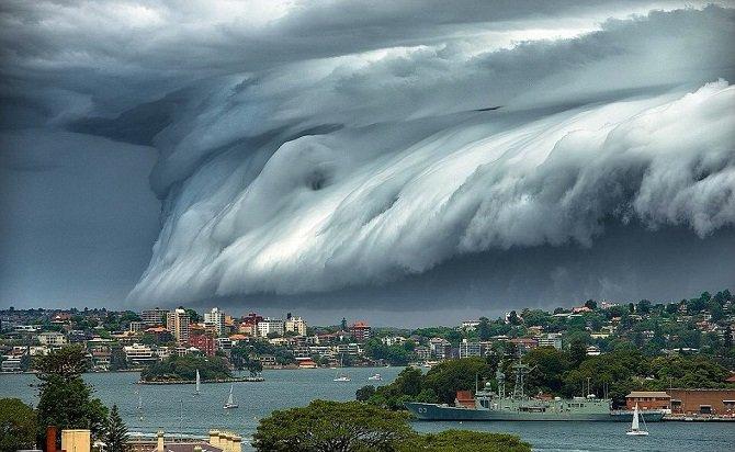 Шторм в Брисбене