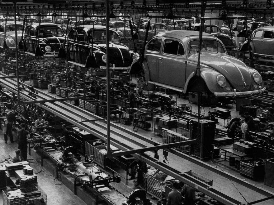 Производство послевоенных «Жуков»