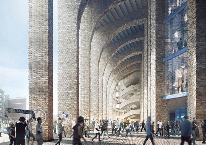 Проект-дизайн нового стадиона