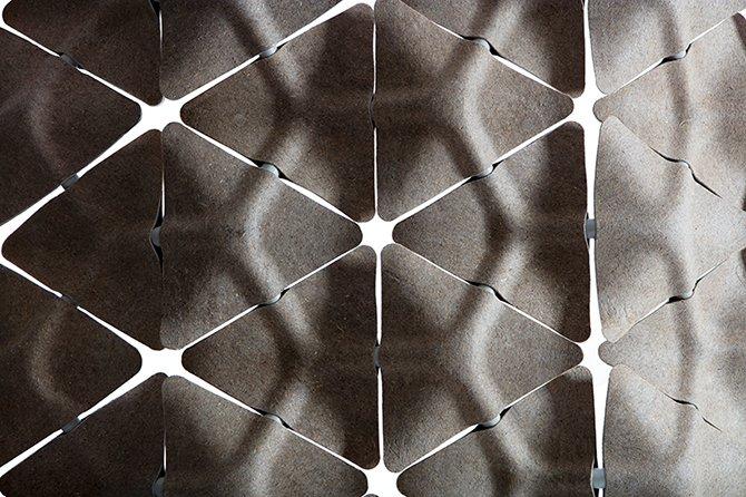 Звукопоглощающая стена от Benjamin Hubert
