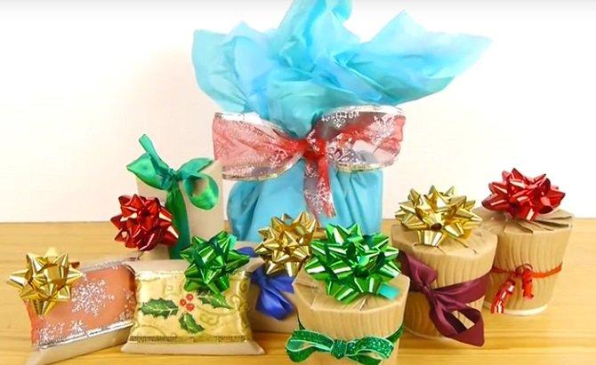 Как эффектно упаковать новогодний подарок
