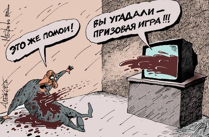 Смешные карикатуры художника Алексея Меринова (49 картинок)