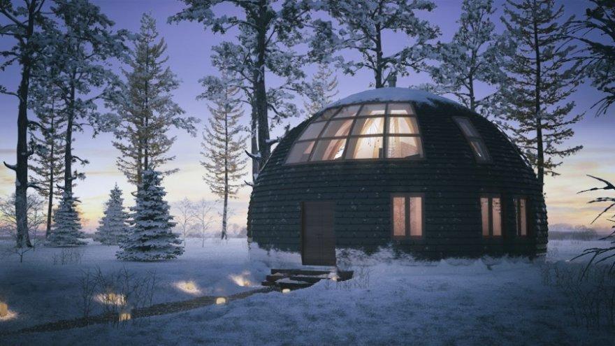 Фантастический дом в Подмосковье, который стоит дешевле, чем однокомнатная квартира в Москве