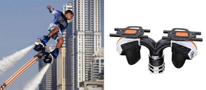 «Cкейтборд», позволяющий летать над водой