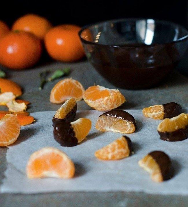 Новогодние мандариновые десерты