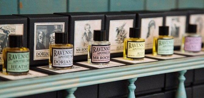 Уникальные ароматы по мотивам литературных произведений