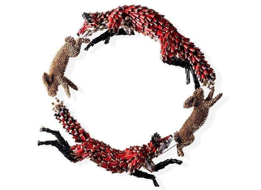 Животные из гильз