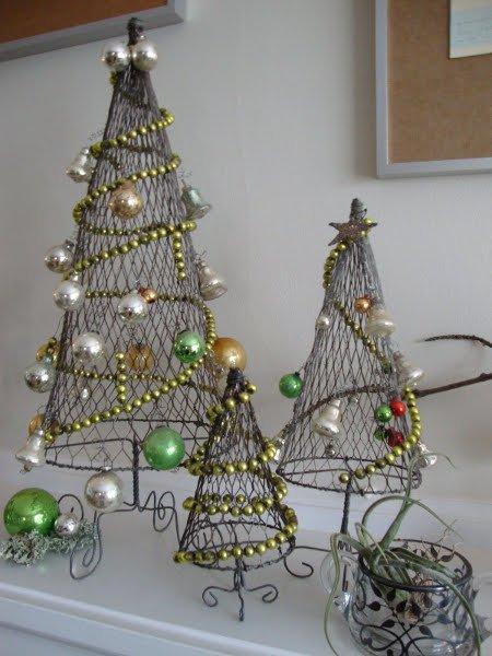Нетрадиционные новогодние елки